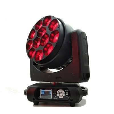 12pcs 40w led zoom moving head